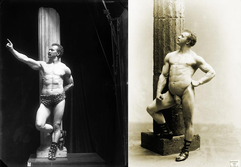 Meet Sandow the Magnificent, the 'World's First Hunk'