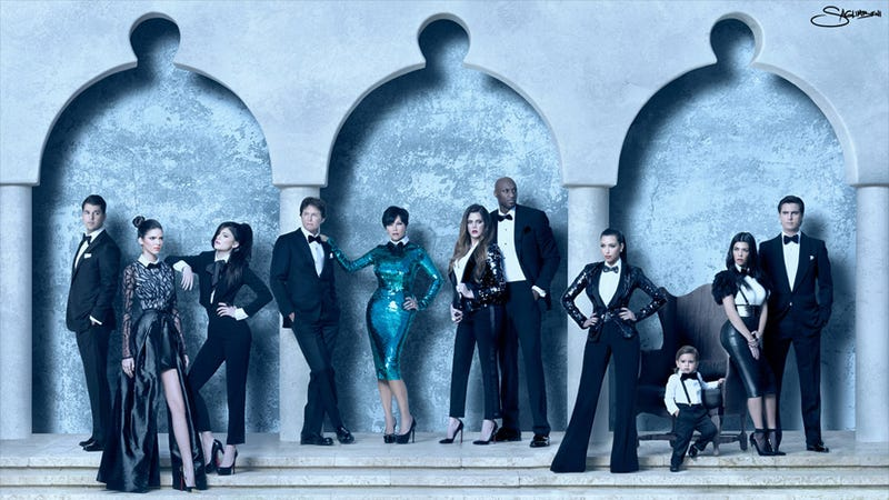 Kardashians Send Out The Saddest, Angriest Christmas Card Ever