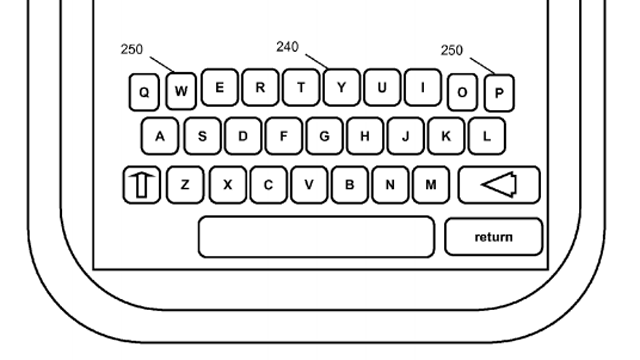 Touchscreen Keyboard Morphs to Fit Your Typing Style