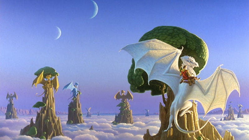10 works of fantasy that are really science fiction