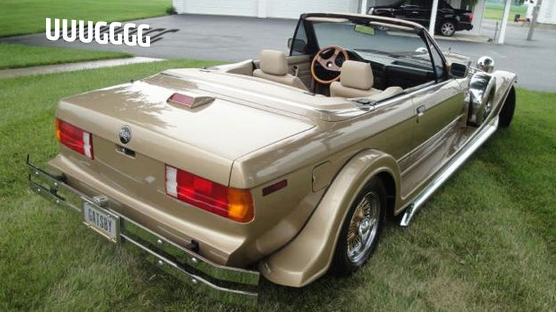 This Is The World's Worst Custom BMW E30
