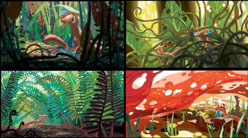 Fantastic Concept Art from the Pixar Film That Never Happened, Newt