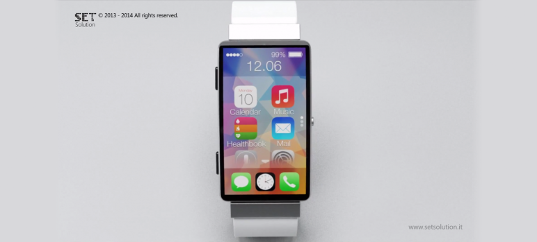 It Would Be Amazing if This iWatch Concept Was Real