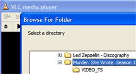 Play ripped DVDs with VLC