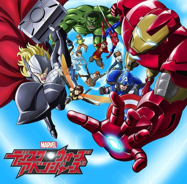 More proof that Japan's Avengers anime is turning them into Pokémon