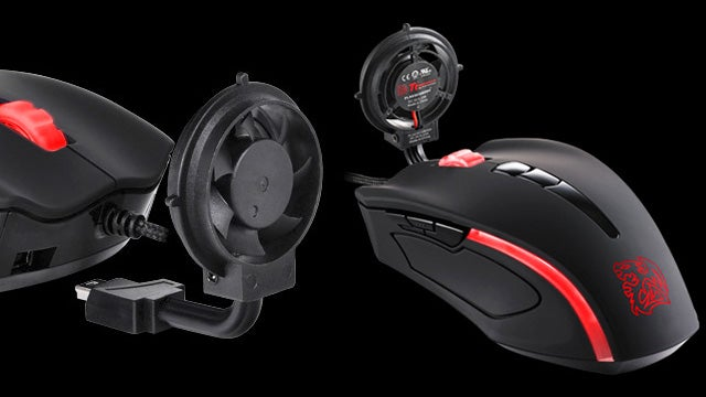 A Fan Mouse, for the World's Sweatiest PC Gamers