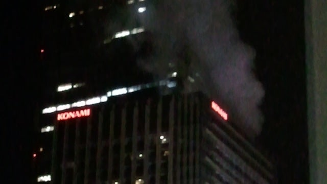 This Konami Building Seems To Be On Fire [UPDATE]
