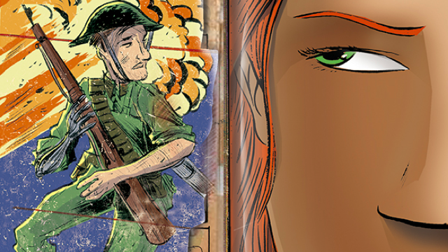 A first look at an upcoming issue of Dark Horse's psychic espionage comic, Mind MGMT