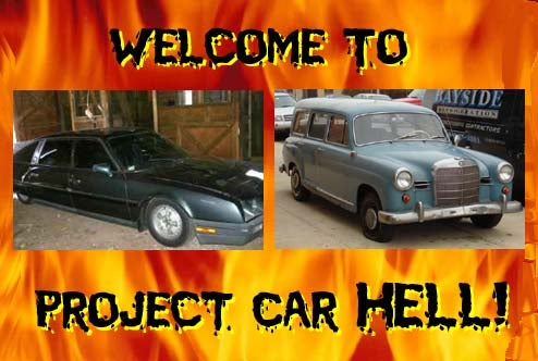 Project Car Hell: Citroen CX Prestige or Mercedes-Benz 190 Wagon?