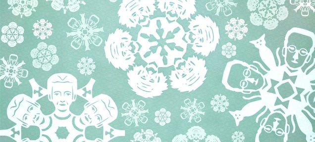 Decorate Your Home With Nobel Scientist Snowflakes This Christmas