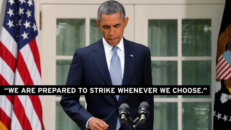 Obama Is Asking Congress to OK Syria Strike