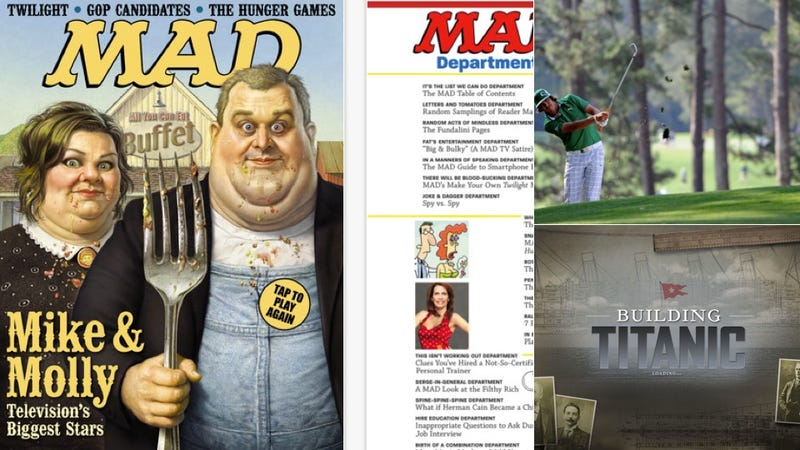 Mad Magazine, The Masters, and More