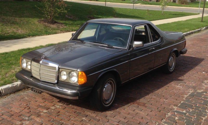 The Most Beautiful 1979 Mercedes Is Half El Camino