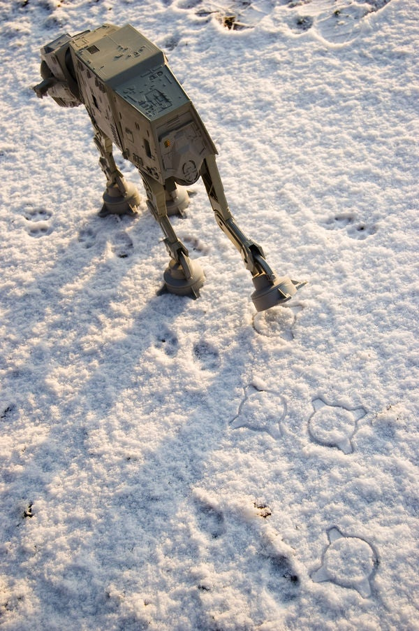 Pet AT-AT (Probably) Won't Poop on Your Carpet