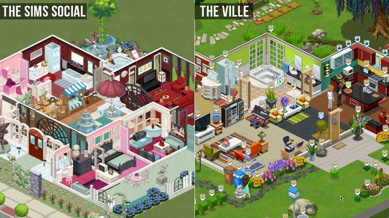 EA Sues Zynga, Says The Ville Rips Off The Sims