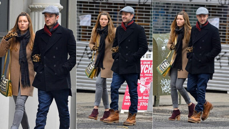 Rumor Mill Attempts to Break Up Justin Timberlake and Jessica Biel