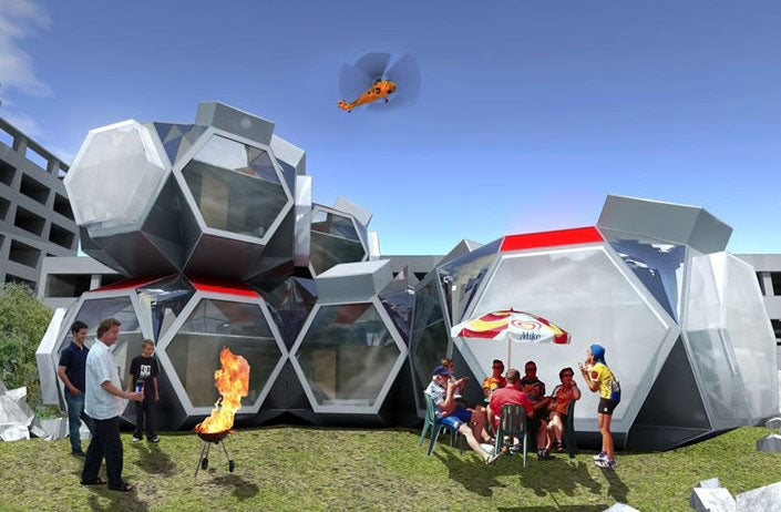 Instant, Inflatable Housing For San Francisco's Next Quake