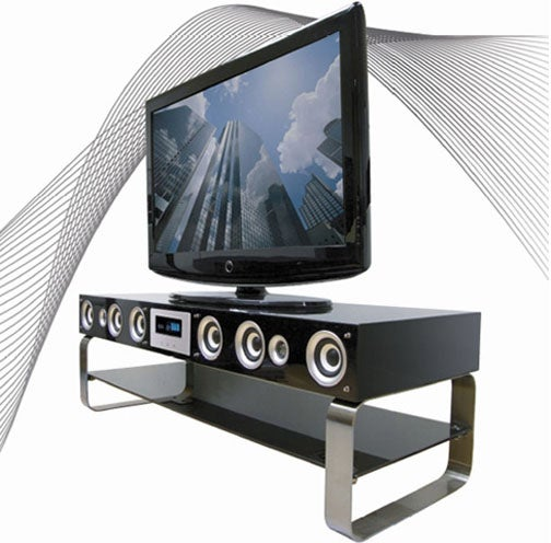 Onei Solutions Speaker Stand Elicits Feelings of Supreme Inadequacy