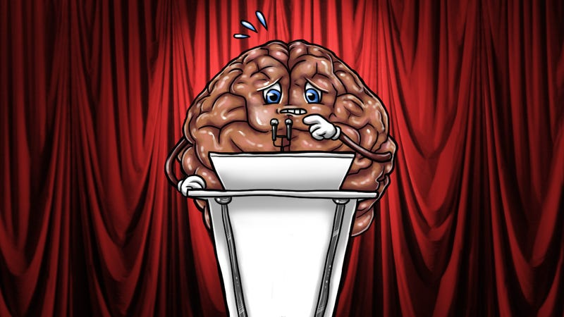 What Happens to Your Brain When You Have Stage Fright