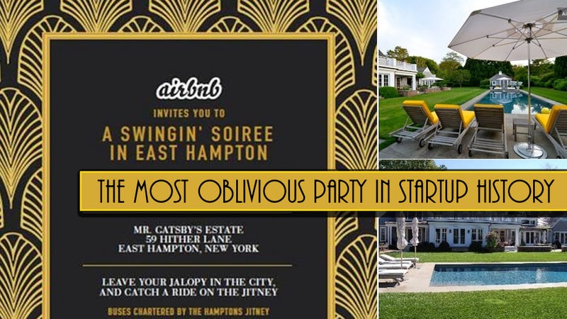 AirBnb Is Busing Reporters to The Hamptons for a Great Gatsby Party