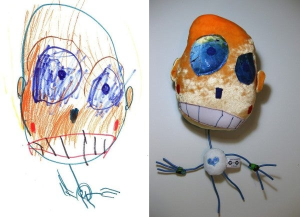 Really Weird Toys : Children s drawings come to life as delightfully weird toys