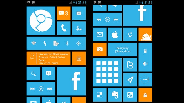 The Android Phone 8 Home Screen
