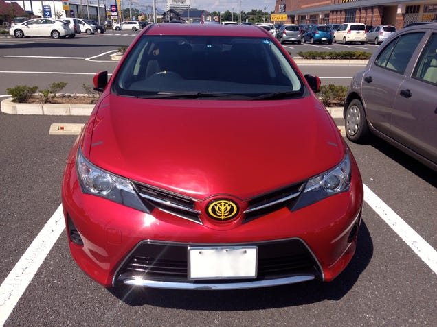 Only In Japan Will A Wild Gundam Toyota Auris Appear