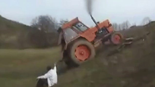 No Driving Is Worse Than Six Minutes Of Tractor Fails
