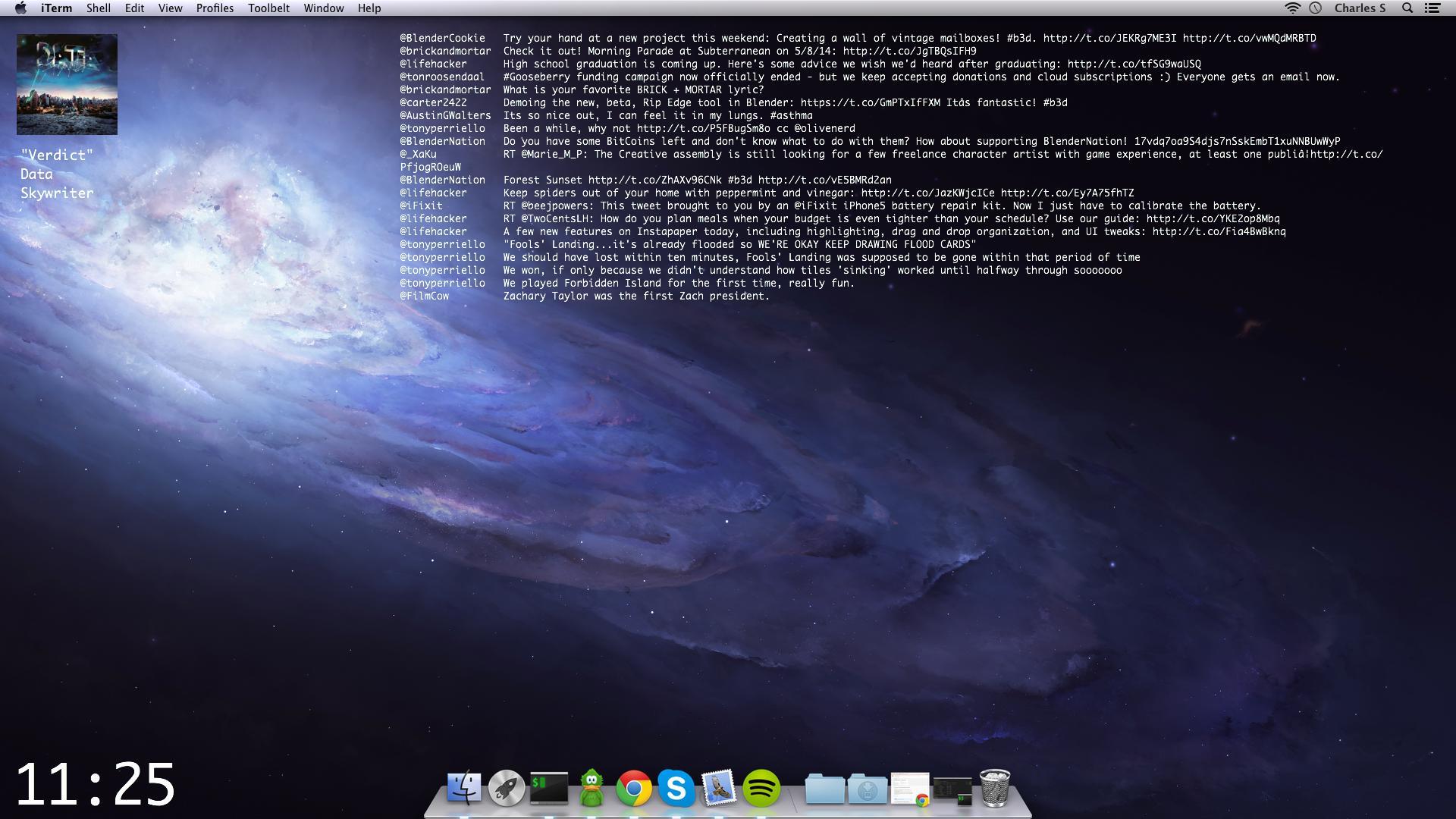 The Galactic Desktop