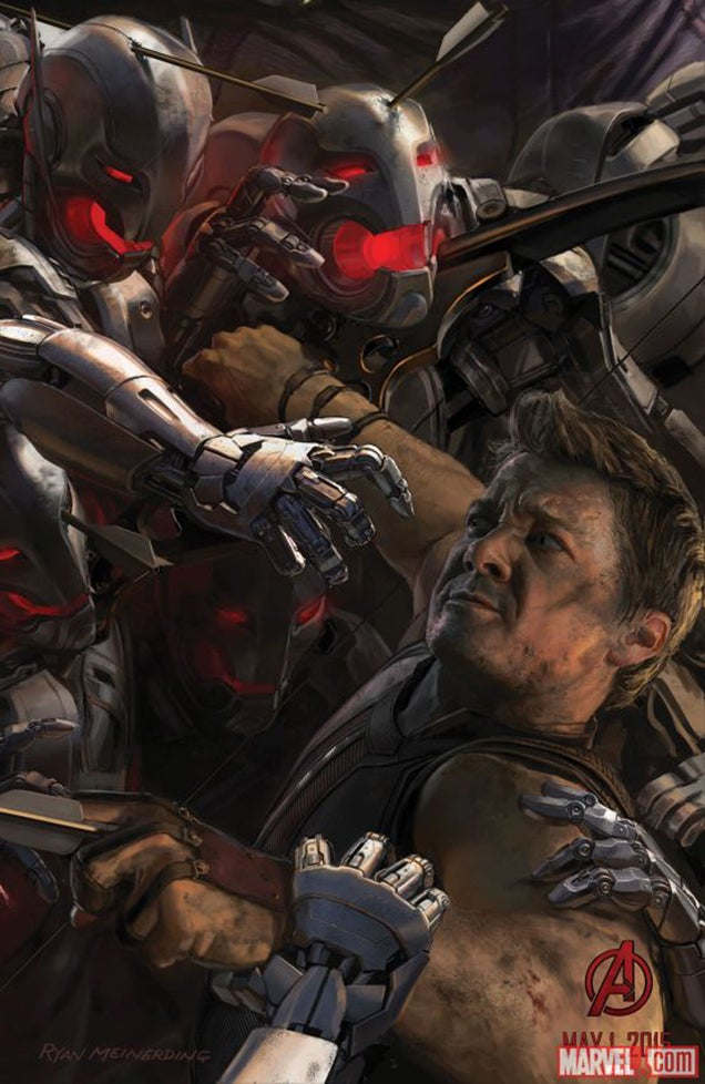 Avengers: Age of Ultron is one awesome robot apocalypse clusterfuck