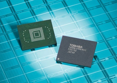 Toshiba Develops 64GB NAND Chip, Just In Time For a 64GB iPhone 3GS?