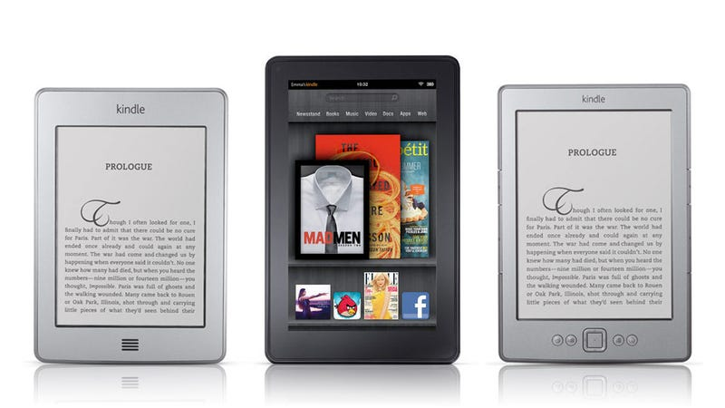 Amazon's Next Kindle Will Be Front-Lit and Its Next Kindle Fire Will Be Bigger