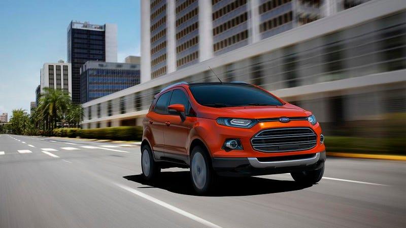 Ford EcoSport A Fiesta-Based CUV For Slumdog Thousandaires