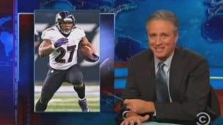 Jon Stewart Murders NFL On Air; Goodell Asks Mueller To Investigate