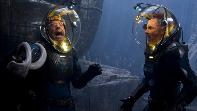 10 minutes of deleted Prometheus scenes reveal a whole crew of pissed off scientists