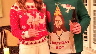 How To Win At Tacky Christmas Sweaters in NASCAR
