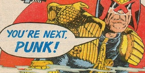 The Law Comes To America As Judge Dredd Returns