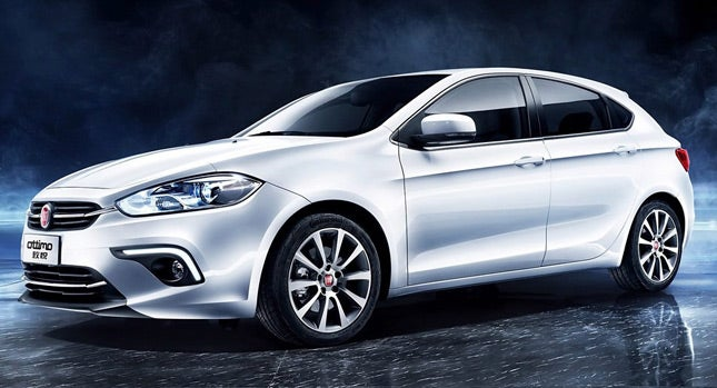 Fiat sells this Dart hatchback only in China