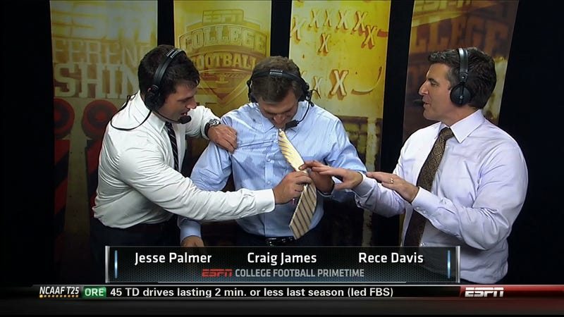 In 2010 And 2011, Craig James Made More Than $700,000 Total For Being Shitty On ESPN/ABC