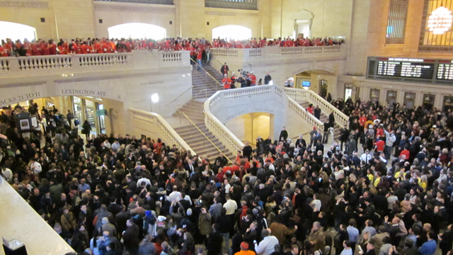A Blubbering Mass of Apple Idiots Are Suffocating Grand Central