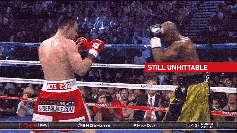 Floyd Mayweather Is Unbeatable. Goddammit.