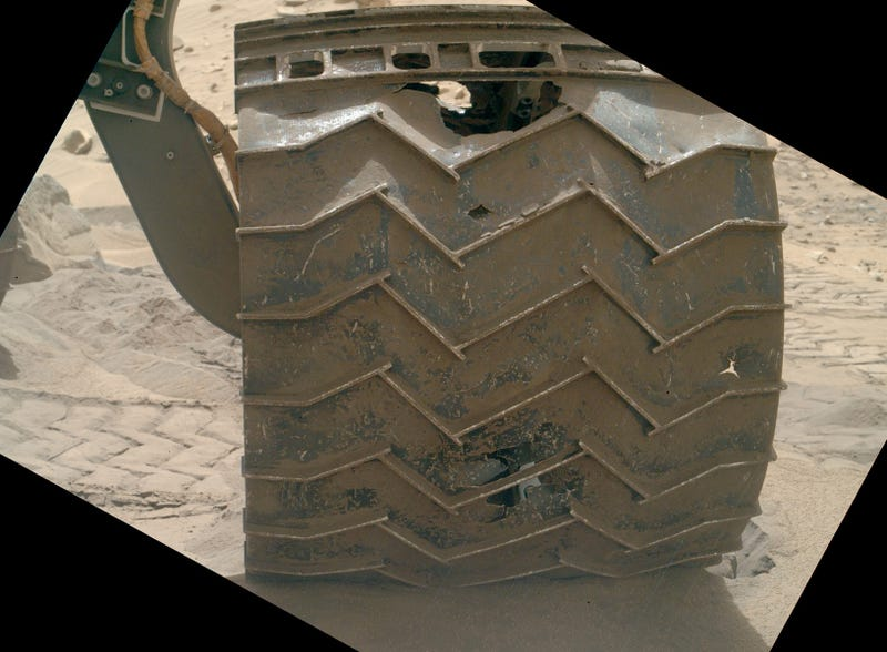 Curiosity's Wheels Are Falling Apart (And How We Can Solve It)