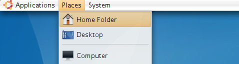 Change Gnome menus to use PCMan File Manager