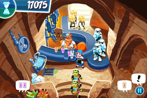 Serve Up Juri Juice In The Star Wars Cantina iPhone Game