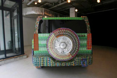 $35,000 In Lottery Tickets Used To Create Hummer H3