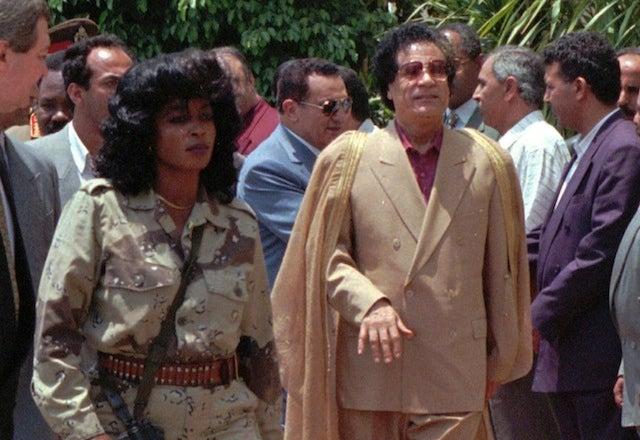 The Women Of Gaddafi's World