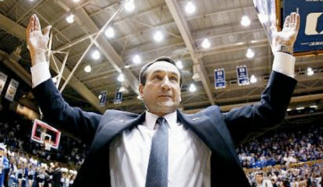 Duke Coach Mike Krzyzewski Being Internally Investigated For Possible Recruiting Violation