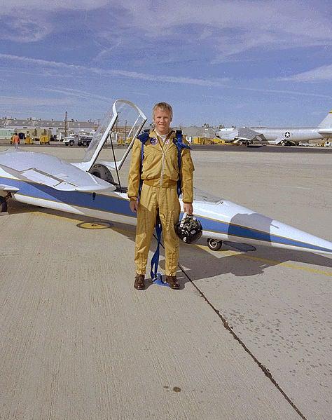 Jayhawk Jake's Unusual Aircraft of the Week - NASA AD-1