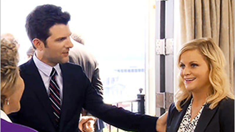 Aw, Leslie Knope Gets to Rub Elbows with Her Political Heroes