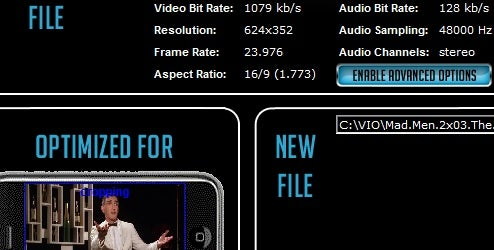 Video MobileConverter Formats Flicks for Small Screen